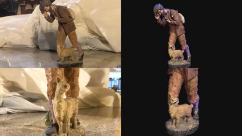 3D 數位記錄幫助文物的修復工作