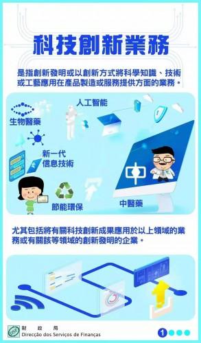 財政局推鼓勵科技創新稅務優惠