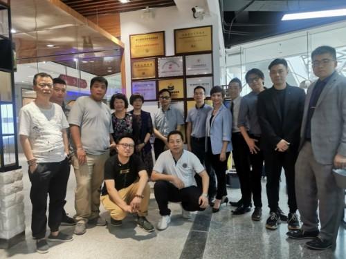 香港亞洲青年協會商務考察團來粵港澳青創灣交流考察